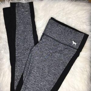 PINK VS Grey & Black Yoga Leggings
